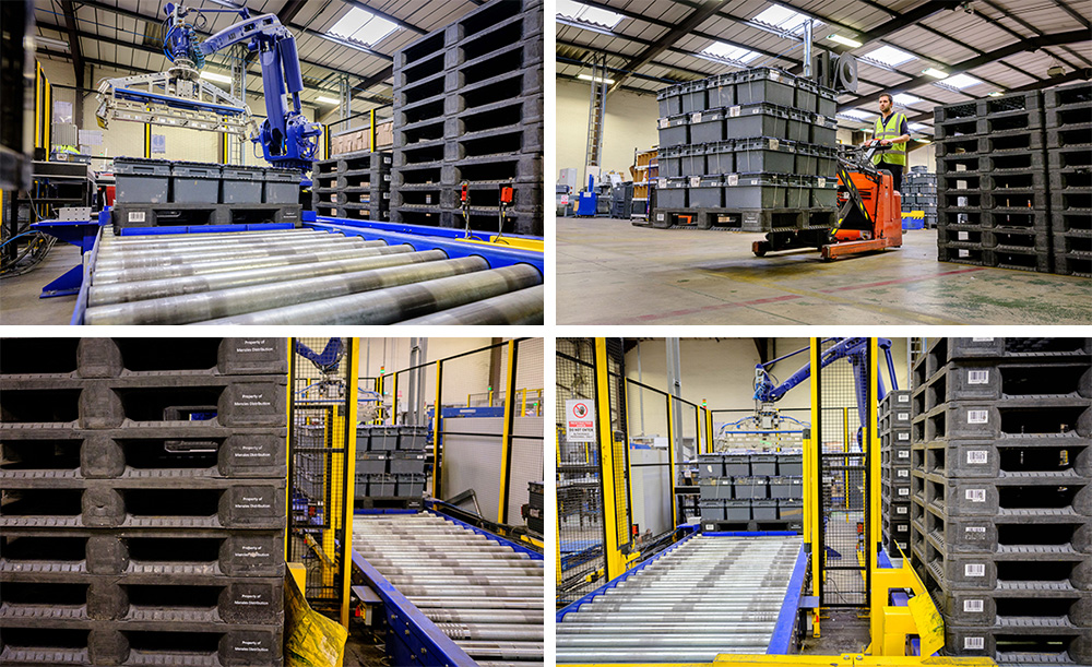 Menzies saves money with plastic pallets