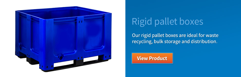 Rigid pallet boxes