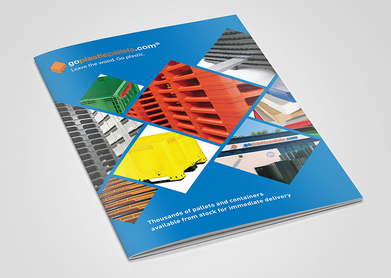 New brochure demonstrates continued growth for Goplasticpallets.com