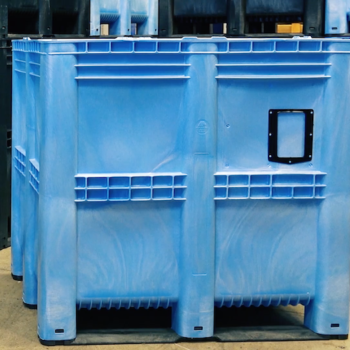See our largest pallet box in action