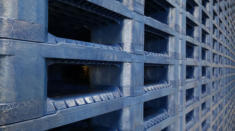 96% of the plastic pallets Goplasticpallets.com supplies are made from recycled materials.