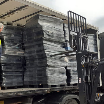 Customers endorse plastic pallet recycling scheme