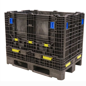 Goplasticpallets.com introduces a new extremely robust folding pallet container