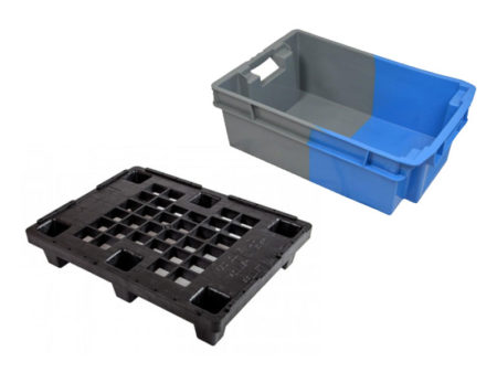 Selecting a Plastic Pallet or Plastic Box for Retail