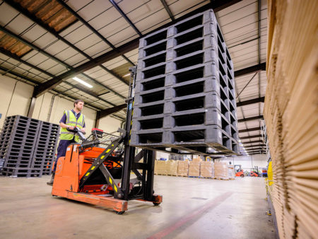 Connected plastic pallets: the greatest IoT opportunity yet?