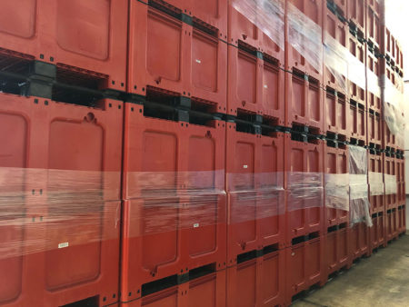 Rigid Pallet Boxes: Bulk storage, distribution and waste recycling problems? Solved!