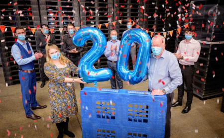 Plastic pallet experts celebrate 20 years