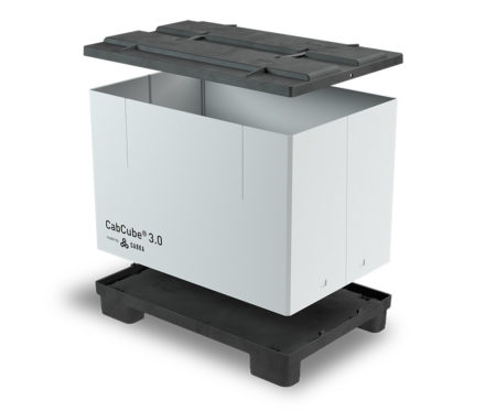 Goplasticpallets.com launches CabCube® 3.0, a new foldable large container