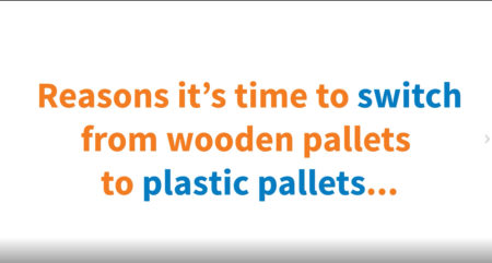 Reasons it's time to switch from wooden pallets to plastic pallets