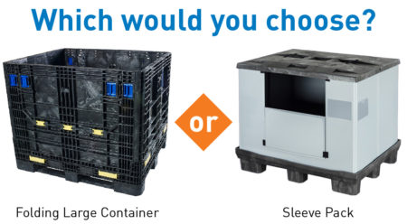 Sleeve Pack or Folding Large Container? Which is Right for My Business?