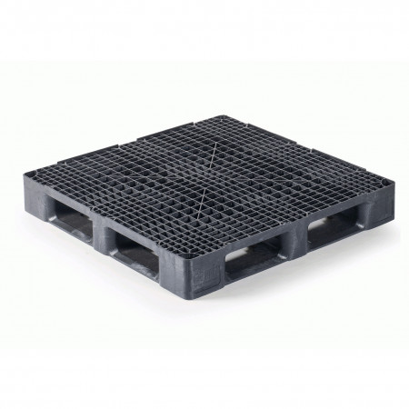 Qpall 1140 HR 6R - Heavy Duty Plastic Pallet