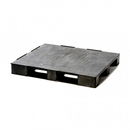 IPS Medium 1210 Closed M3R - Recycled Plastic Pallet