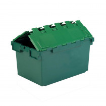 Attached Lid Plastic Box