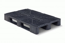 Qpall 1208 HR 3R - Euro Size Plastic Pallet