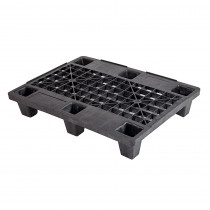Qpall 6080L 6F - Nestable Display Plastic Pallet