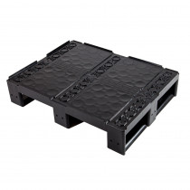 SF 6080 Pool Closed Deck 3R - Half-Euro Plastic Pallet
