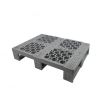 SF 6080 Pool Open Deck - Half Euro Plastic Pallet