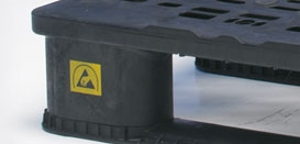 ISPM 15 & Anti-Static (ESD) for Plastic Pallets