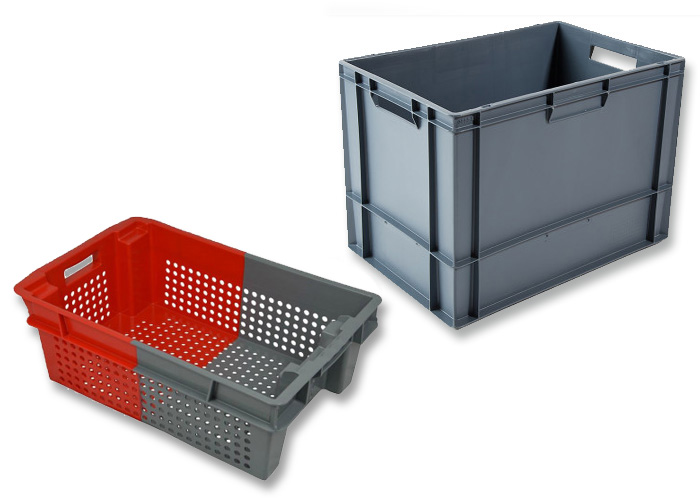 Plastic Boxes: Solid or Perforated Side Walls
