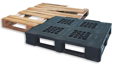Goplasticpallets.com Leave the wood Go Plastic
